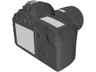 Canon EOS Photo Camera 3D Model