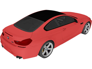 BMW M6 Coupe [F13] (2013) 3D Model