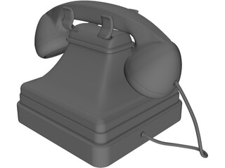 Phone Antique 3D Model