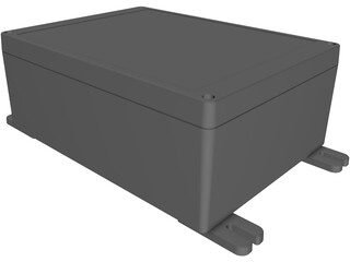 IP65 Watertight Enclosure RP1460 3D Model