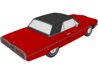 Ford Thunderbird (1964) 3D Model