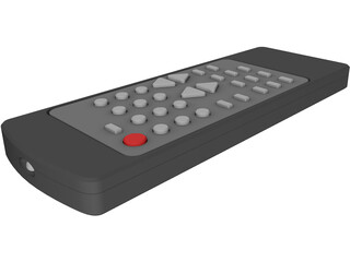 Remote Control Infrared 3D Model