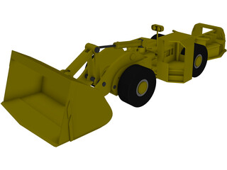 Shovel Loader 3D Model