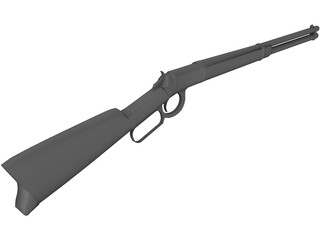 Winchester Rifle 3D Model