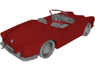 Alfa Romeo Guilietta Spider 3D Model