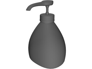Liquid Soap Dispenser 3D Model