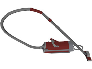 Electrolux Vacuum Cleaner 3D Model