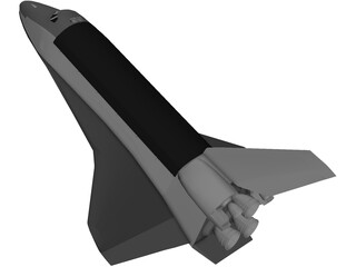Discovery Space Shuttle 3D Model