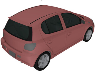 Toyota Yaris 3D Model