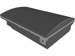 Sony PlayStation 3 3D Model