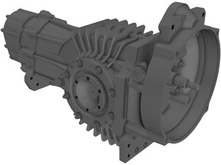Mendeola MD5 Gearbox 3D Model