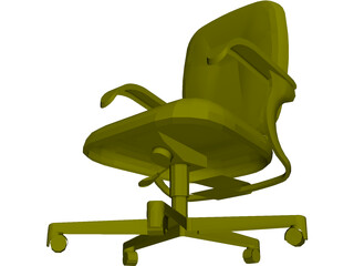 Allsteel Chair 8 3D Model