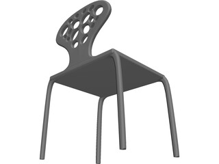 Supernatural Chair 3D Model
