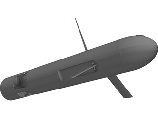 Unmanned Underwater Vehicle (UUV)  3D Model