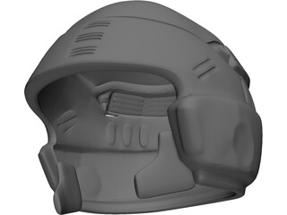 Starship Troopers Helmet 3D Model