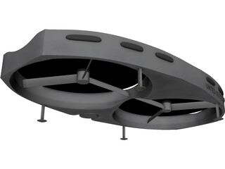 Air Scout UAV 3D Model