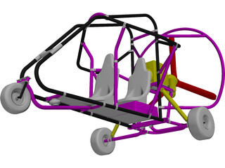 Powered Parachute  3D Model