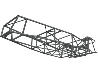 Lotus 7 Chassis 3D Model