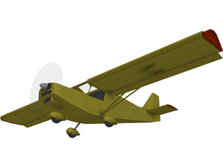 ULM Savannah 3D Model