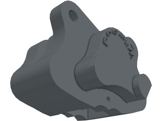 Brake Caliper Wilwood 3D Model