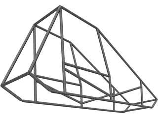 Sprint Car Chassis Base 3D Model