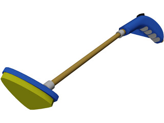 Tub Scrubber 3D Model