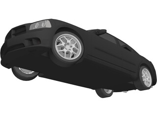 Dodge Charger SRT 8 3D Model