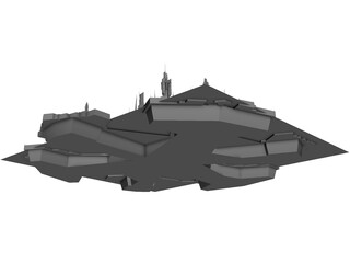 Stargate Atlantis City 3D Model