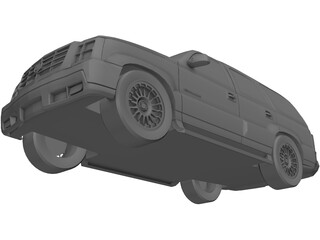 Cadillac Escalade 3D Model