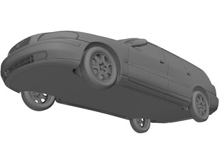 Volvo C70 Wagon (2004) 3D Model