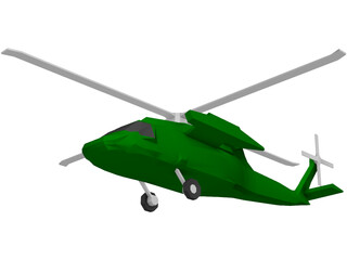 Sikorsky MH-60 Stallion 3D Model