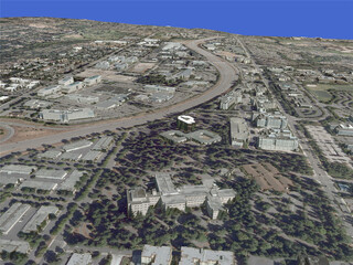 Redmond City, South 3D Model