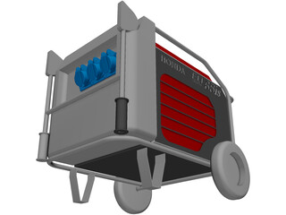 Generator Honda EU65is 3D Model