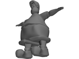 Fatty Boy 3D Model
