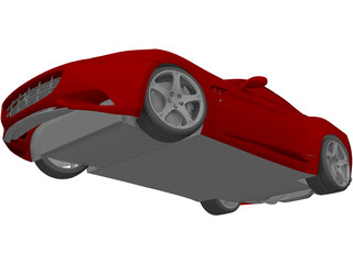 Ferrari California (2009) 3D Model