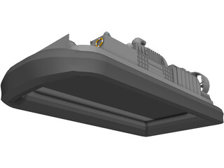 Landing Craft Air Cushion (LCAC) 3D Model