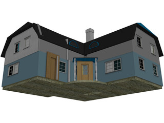 Country House 3D Model