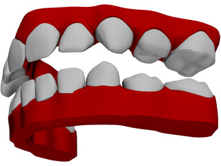 Teeth Childs 3D Model
