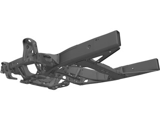 GMT360 Front Frame Assembly 3D Model