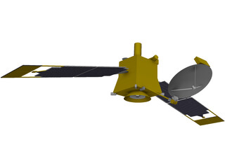 Mars Global Surveyor 3D Model