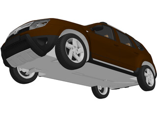 Renault (Dacia) Duster 3D Model