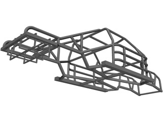 NASCAR Chassis 3D Model