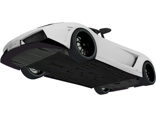 Lamborghini Gallardo LP570 Spyder 3D Model