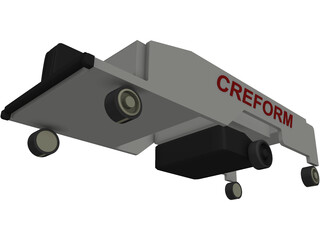 Automatic Guided Vehicle CREFORM 3D Model