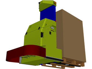 Automated Guided Vehicle [AGV] 3D Model