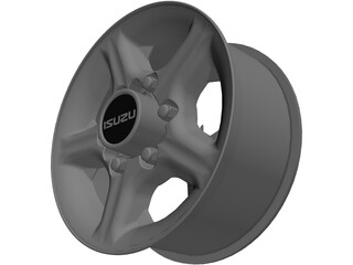 Wheel Isuzu 3D Model