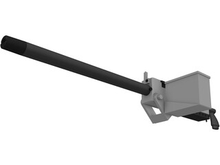 Browning M1919 3D Model