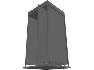 Phone Booth Japanese 3D Model