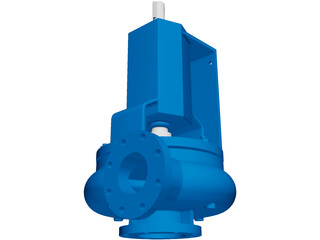 Centrifugal Pump Halco 2500 Supreme 3D Model