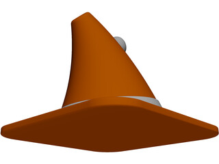 Angry Cone 3D Model